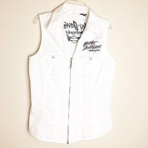 Harley-Davidson Medium White Vest
